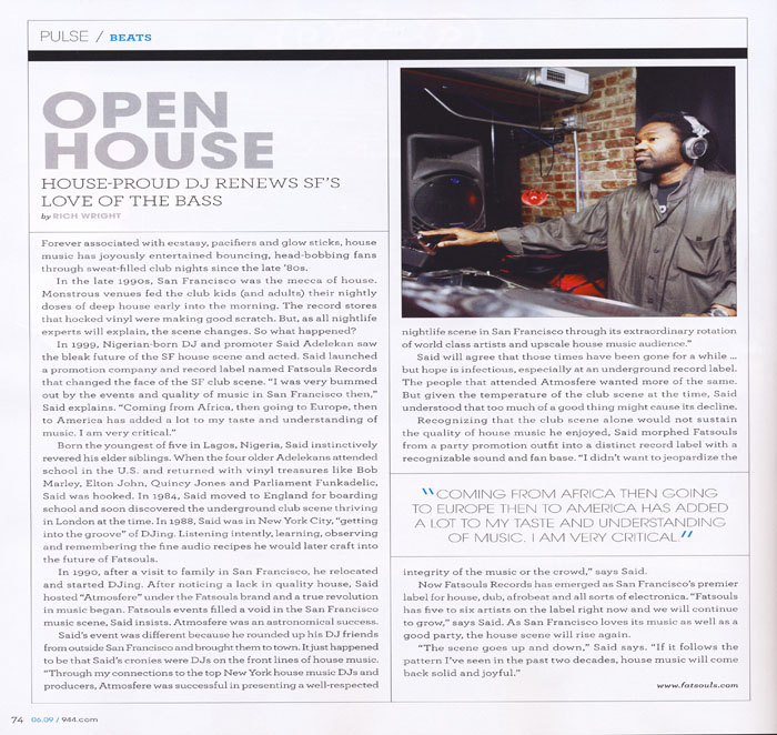 944 Magazine featured article