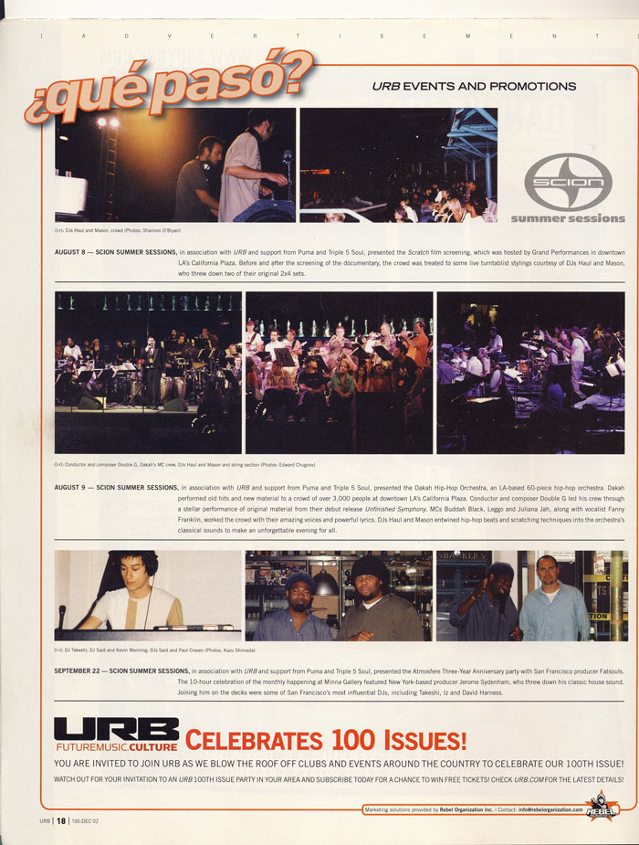 URB Magazine Featured Article